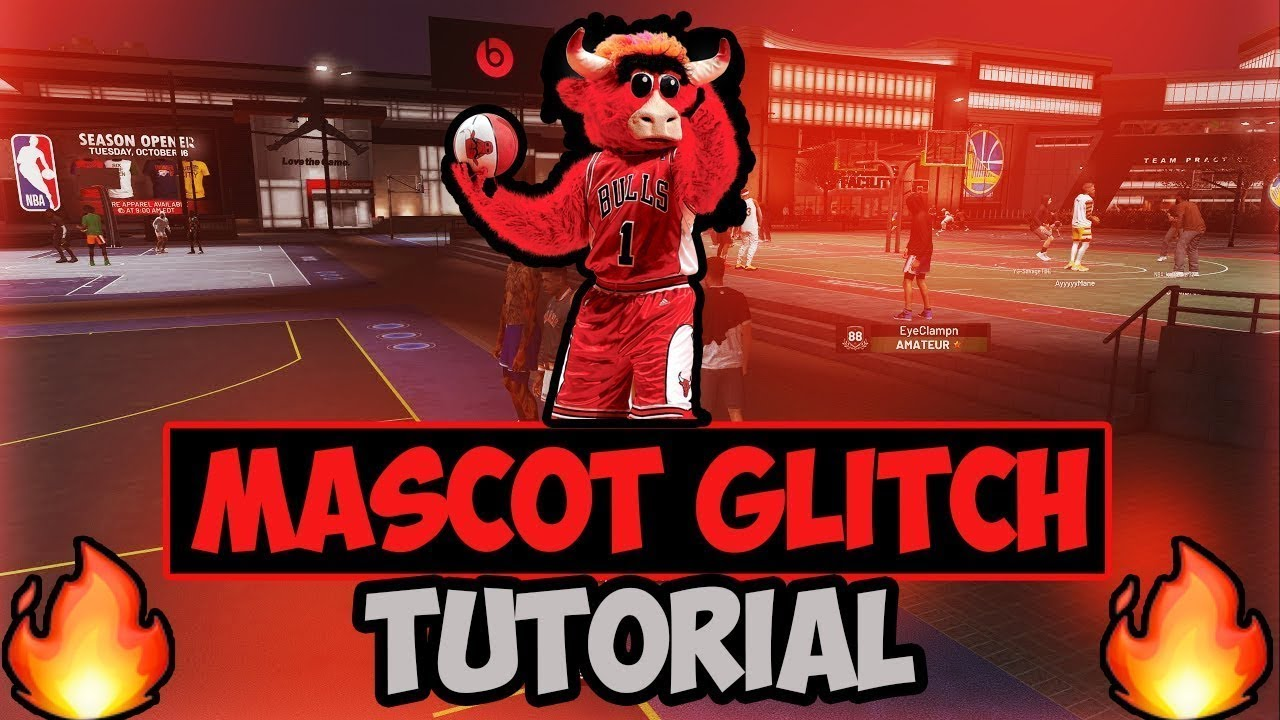 !! NBA 2K20 !! *MASCOT GLITCH + ALL MASCOTS + EVENTS ( BIO) (PS4)