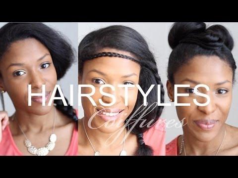 Coupe courte de cheveux pour femme noire