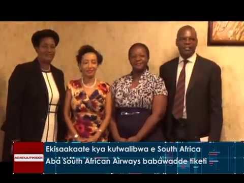 Ekisaakaate kya kutwalibwa e South Africa