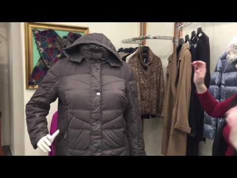 Elena Mirò \ Fashion Town - купить пуховики женские больших размеров. Харьков, Киев, Одесса.