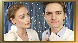 ASMR DERMATOLOGIST AND STUDENT ROLE PLAY