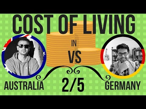 Living Costs In Australia Vs Germany - Monthly Expenses,  University Fee (2/5)