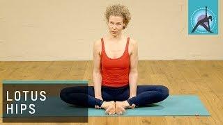 20min Yoga class, Lotus Hips