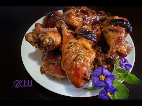 Honey Baked Chicken Drumsticks - Đùi Gà Nướng Mật Ong
