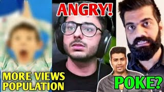 This Video Views Will CROSS World Population 😱 | CarryMinati Angry, Technical Guruji, Ashish Vs KRK