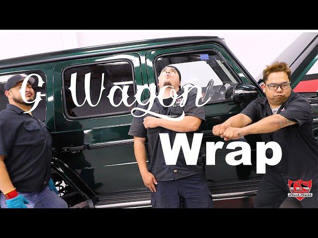 Best Vinyl Wrap - Mercedes Benz AMG G63 (G Wagon)  Ghost Shield Film Wrap Company in Thousand Oaks