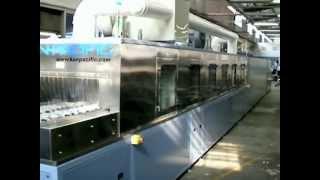 MB Series - Conveyorised Spray Washing & Drying System