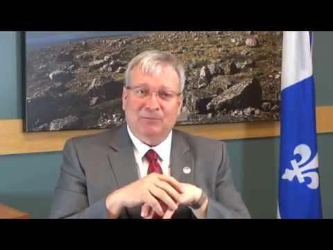 Participation du ministre Luc Blanchette à Québec Mines