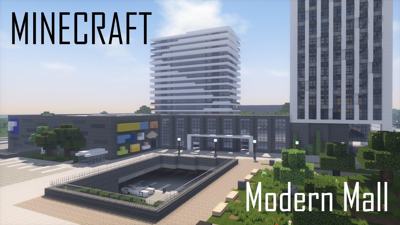Modern Mall Full Interior Minecraft Map