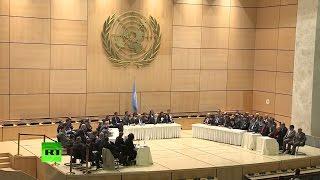 Встреча в Женеве  Свободная сирийская армия впервые представляет оппозицию на переговорах
