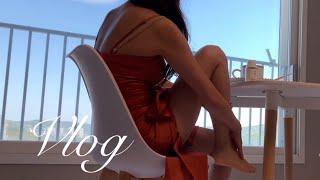 벗꽃 엔딩  숯불바베큐 불멍  집순이 아줌마 브이로그