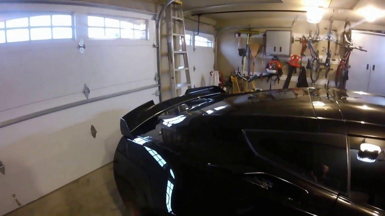 2016 Corvette Z06 Stage 2 Spoiler Youtube