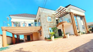 House Tour  5bedroom house now selling in Accra Ghana  situated on 10080 size of plot