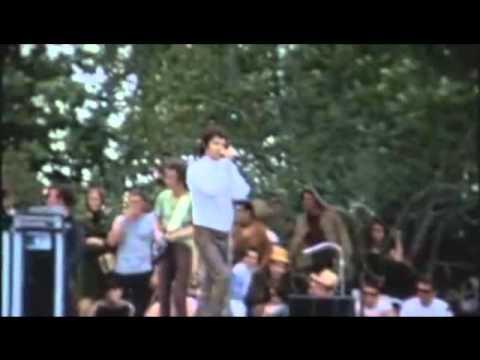 "The Doors Wild Child Live At New York ""Singer Bowl"" 1968"