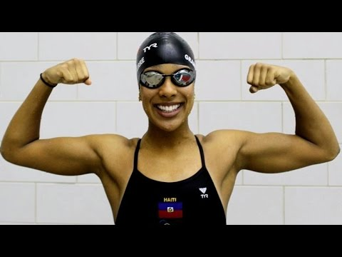 First Female Olympic Swimmer For Haiti Learned To Swim After