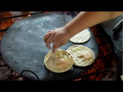 Mexico - Tradional Mayan meal being made (Part 2)