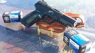 FN Five seveN (5x7) VS BULLETPROOF GLASS