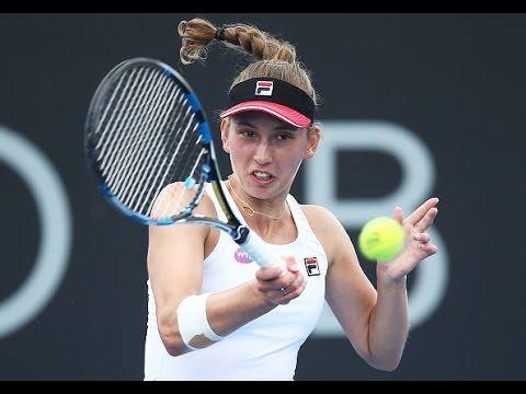 2017 Hobart International Semifinals | Elise Mertens vs Jana Fett | WTA Highlights