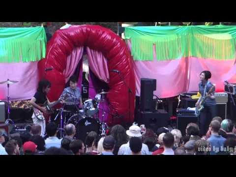 The 5,6,7,8's-MOTHRA-Live @ Burger Boogaloo, Mosswood Park, Oakland, CA, July 4, 2015