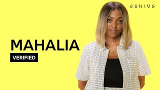 English singer-songwriter Mahalia signed a record deal at the age o...