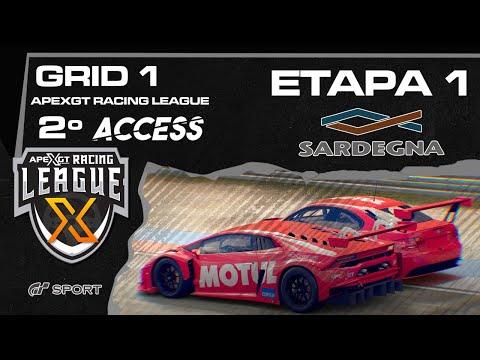 ACCESS 2  GT SPORT -  GRID1 VERDE  - Etapa 1