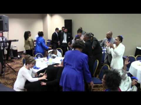 Mother DuPree Lays Hands at her 2013 Dinner