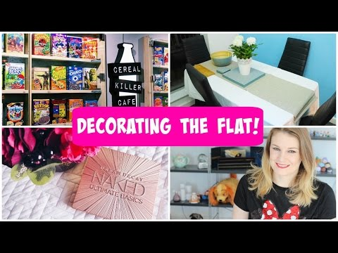 Decorating the Flat - The Weekly Vlog #43 | lilmisschickas