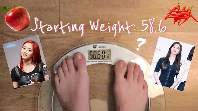 jihyo pierde în greutate