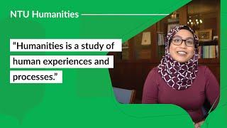 Career Options with NTU School of Humanities: Faizzah