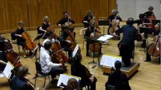 2012 National Summer Cello Institue. Bach/Varga Chaconne from Partita in D min. G. Marcano Condutor