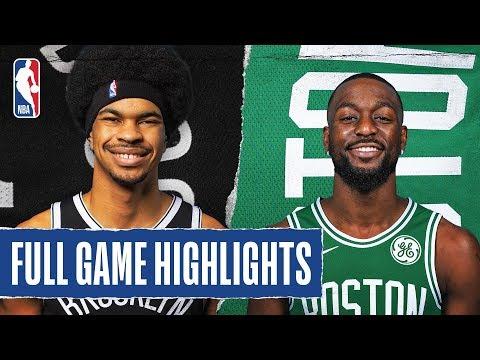 NETS At CELTICS | FULL GAME HIGHLIGHTS | November 27, 2019