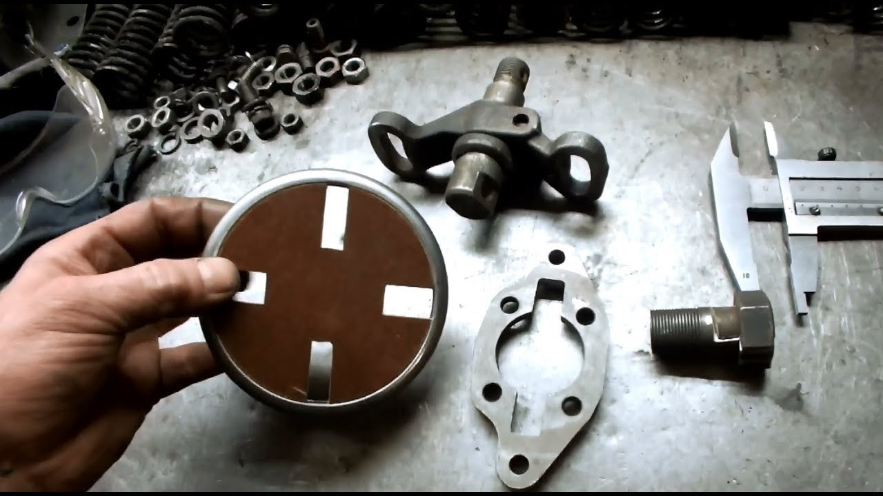Ямз-238 Переделка муфты привода Тнвд