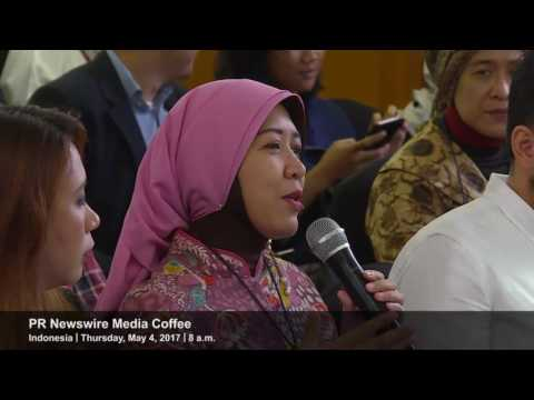Event highlight clip of PR Newswire's Indonesia Media Coffee event on May 4, 2017