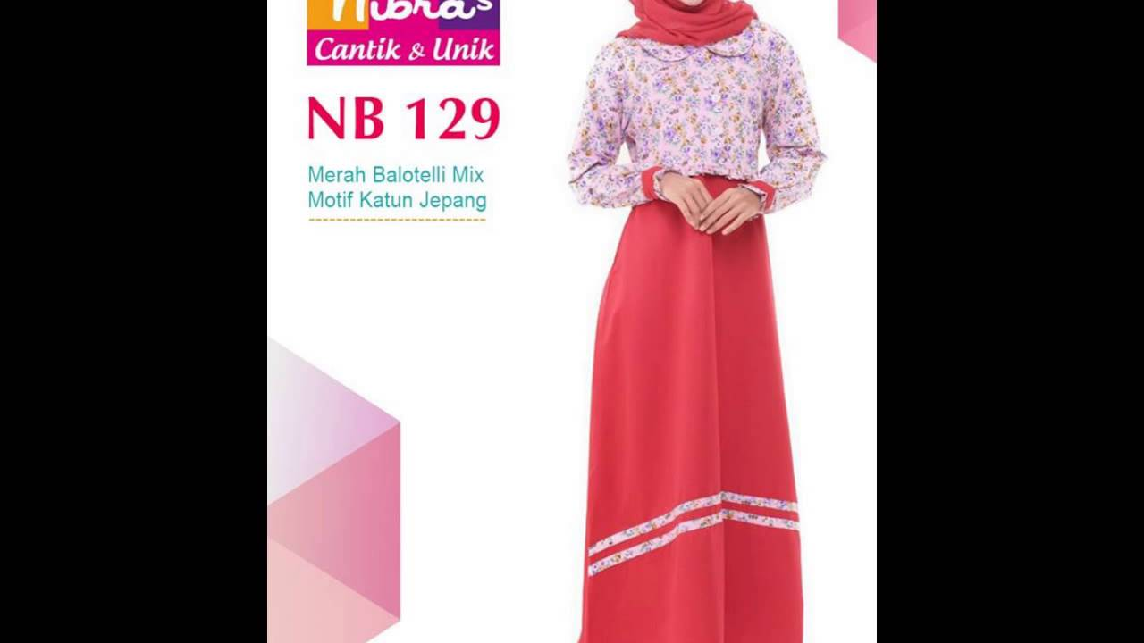 0813 3097 0690 Jual Nibras Gamis Baju Muslim Terbaru Gamis Syar I