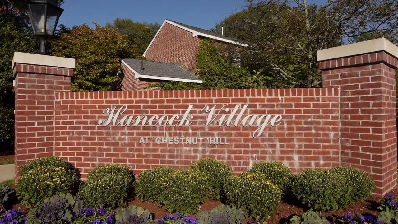 Hancock Village Apartment Tour Chestnut Hill Ma