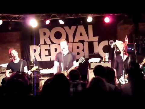 Royal republic we are the royal presidents daughter nottingham rock city 29 10 11