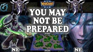 Grubby | Warcraft 3 TFT | 1.30 | NE v NE on Echo Isles - You May Not Be Prepared!