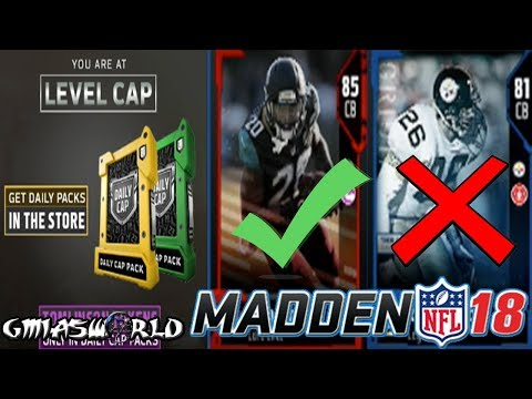Madden 18 Tips: 81 OVR Rod Woodson Sucks, Elite Jalen Ramsey, Level Cap Packs In Madden 18 Gameplay