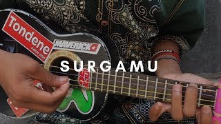 Download Lagu SURGAMU - Ungu (lirik & chord) | Cover Ukulele by Alvin Sanjaya mp3