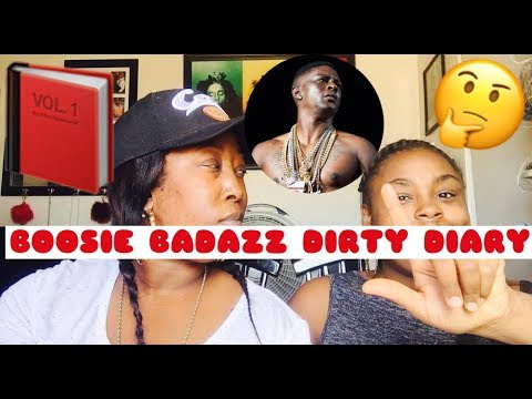 BOOSIE BADAZZ DIRTY DIARY | REACTION 👀