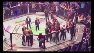 CONOR McGREGOR VS KHABIB NURMAGOMEDAOV POST FIGHT BRAWL #UFC229