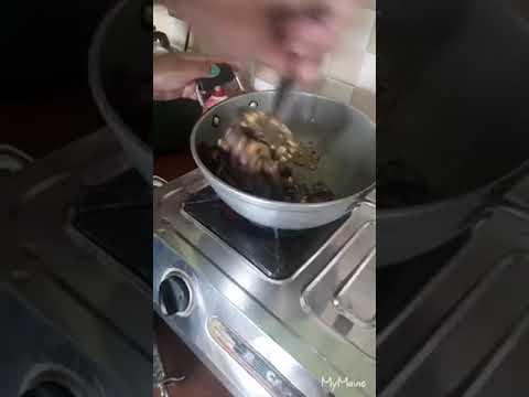 Rakti - Blood fried lazy recipe