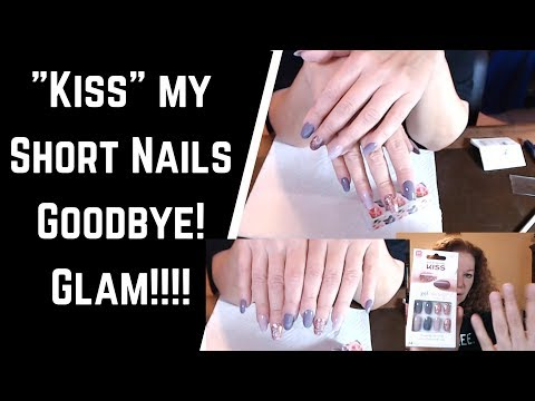 💋 Applying Kiss Oval Press On Nails for the First Time | Experience, Chat and Review