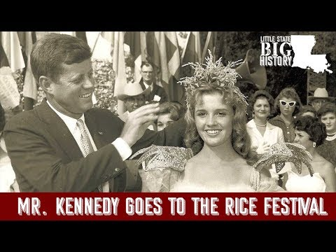JFK Goes To The Rice Festival: Little State Big History