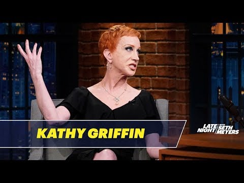 Kathy Griffin Addresses the Severed Trump Head Photo Controversy