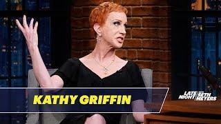 Video Kathy Griffin Addresses the Severed Trump Head Photo Controversy download MP3, 3GP, MP4, WEBM, AVI, FLV Juni 2018