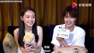 [ENGSUB] Darren Chen u0026 Sun Yi Han Baidu Interview