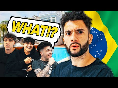 SPEAKING ONLY PORTUGUESE FOR 24 HOURS!! (FaZe House Edition)