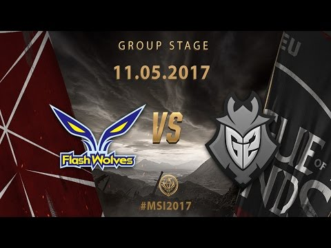 [11.05.2017] FW vs G2 [MSI 2017][Group Stage]