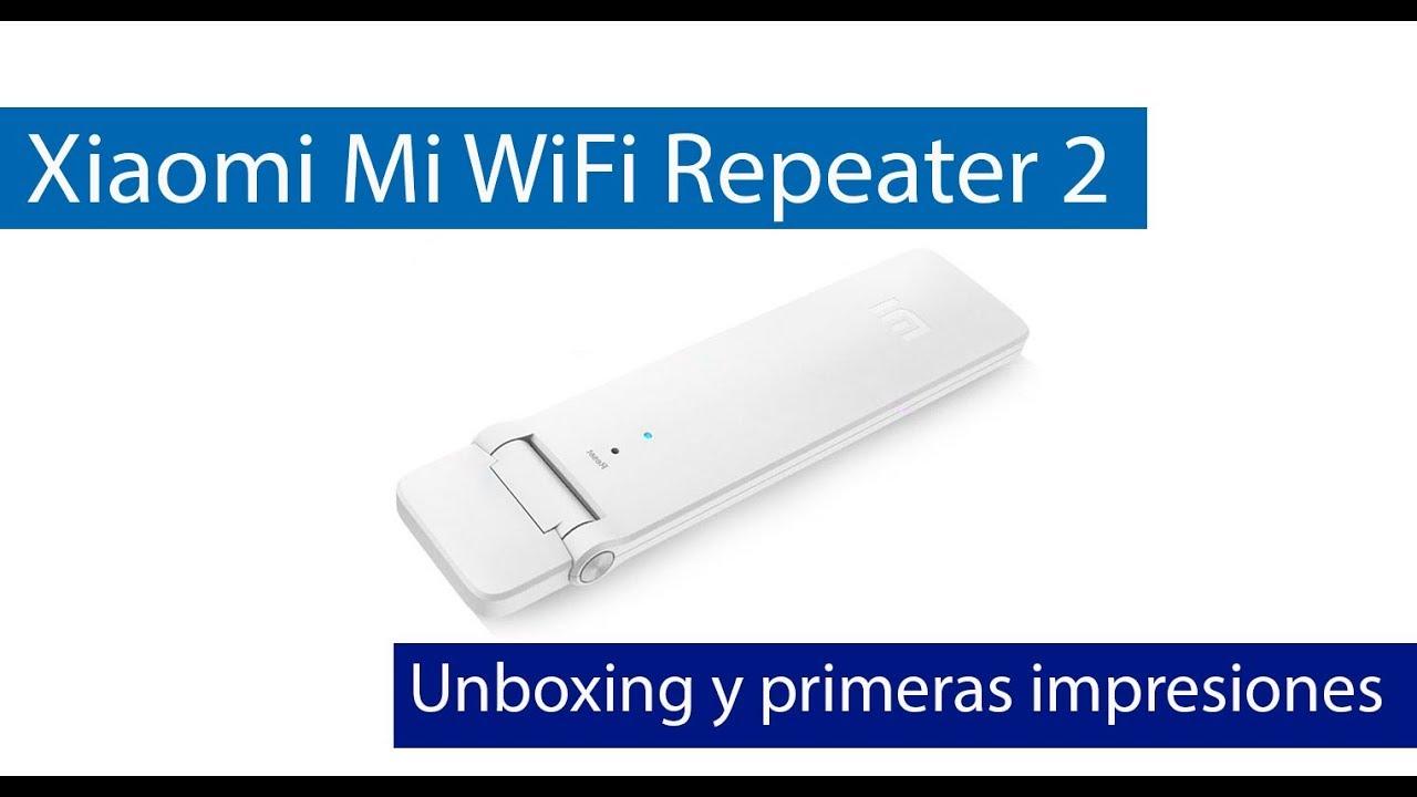 Xiaomi Mi WiFi Repeater 2 Conoce este repetidor Wi-Fi N300